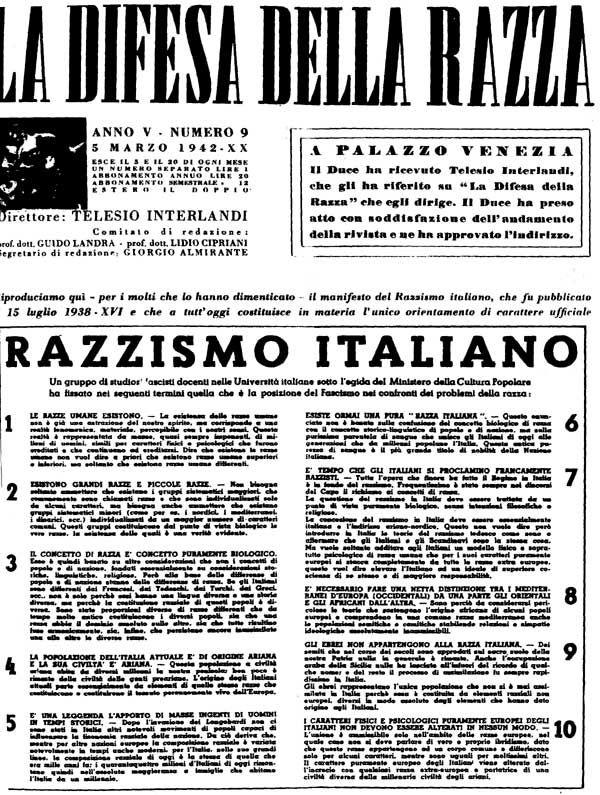 Il fascismo nei giornali (di Francesco Giorgioni)