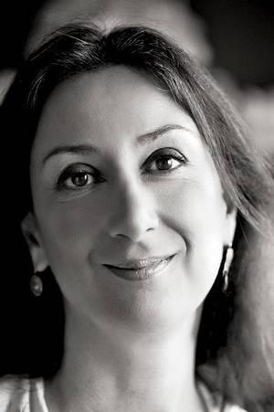 Daphne Galizia (di Francesco Giorgioni)