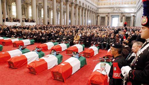 12 novembre 2003: la strage di Nassiriya  (di Giampaolo Cassitta)