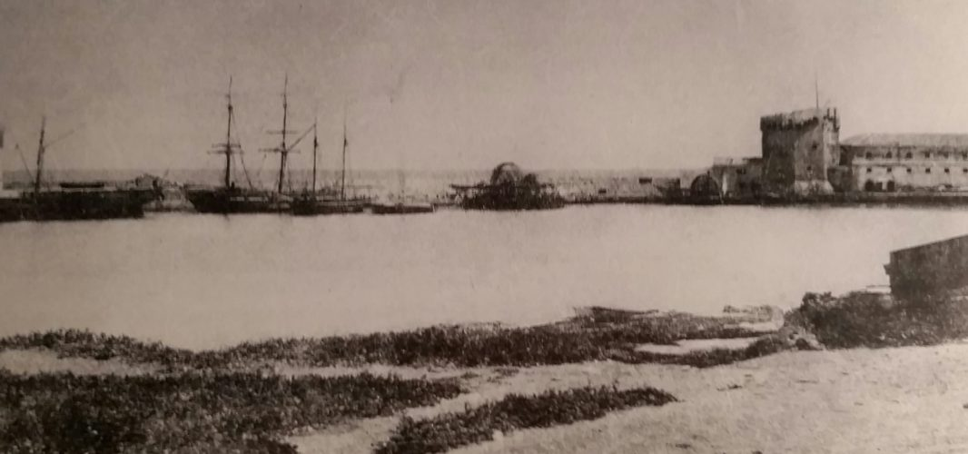 A Porto Torres il battello dei Mille (di Cosimo Filigheddu)