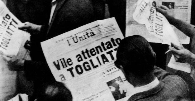 14 luglio 1948: l'attentato a Togliatti. (di Giampaolo Cassitta)