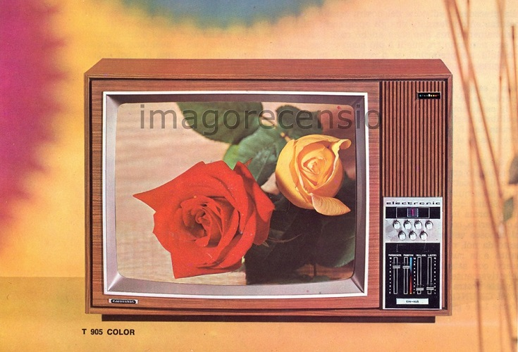 25.02.1977: il TG è a colori.   (di Luca Ronchi)