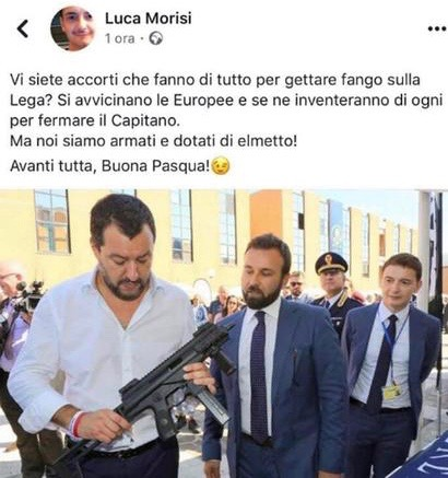 L'uomo che sussurra alle armi (di Giampaolo Cassitta)