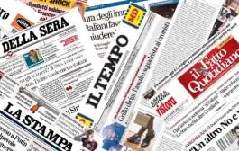 I giornali di oggi (di Cosimo Filigheddu)