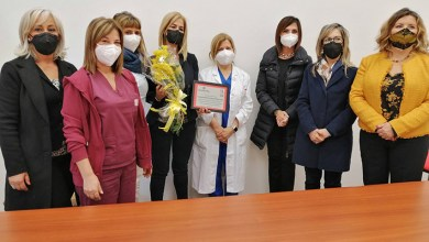 Photo of Una targa per le donne dell'Aou in prima linea contro il Covid