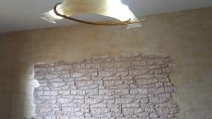 Rivestimento parete soggiorno Sardegna