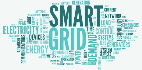 Tag cloud sul concetto di smart grid