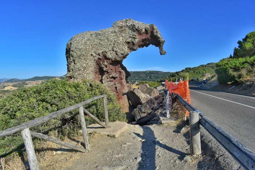 la roccia dell'elefante