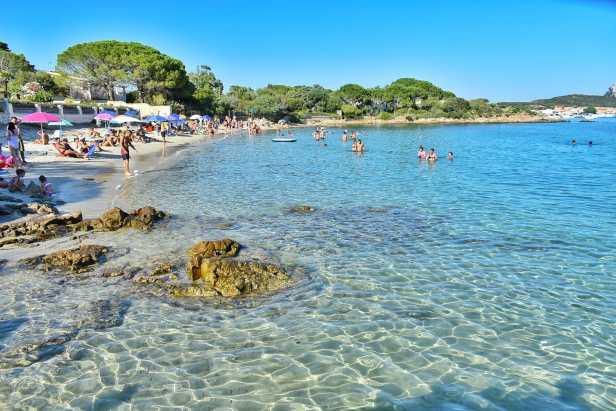 golfo aranci le cinque spiagge