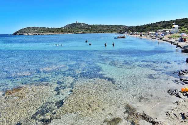 spiaggia di capo malfatano
