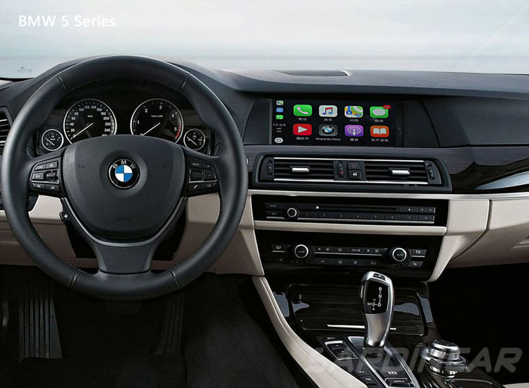 bmw f11 apple carplay