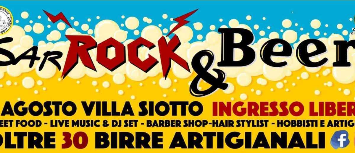 SarRock & Beer sarroch festa birra sardinian life