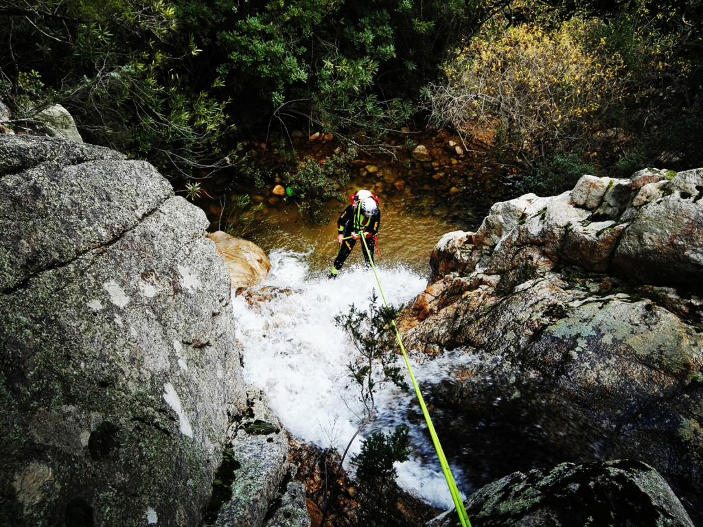 Canyoning experience in sardinia
