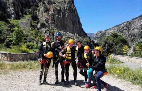 fun, sun, canyoning, positive experience, things to do sardinia