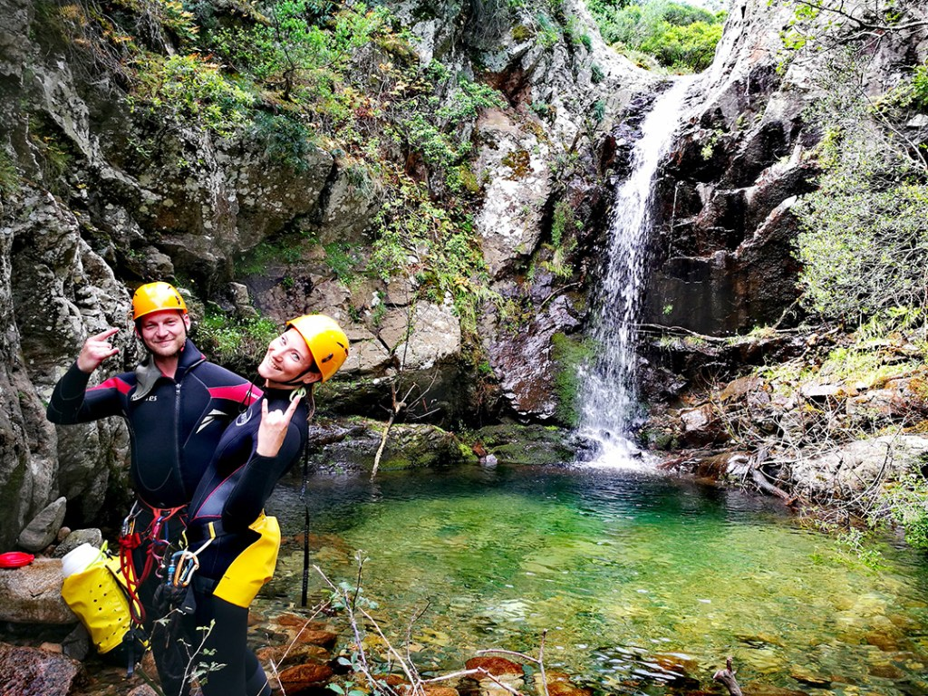 canyoning in sardinia, best canyoning sardinia