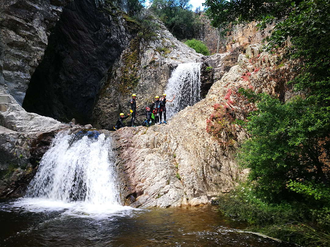 rio e forru canyoning, canyoning sardinia, things to do sardinia