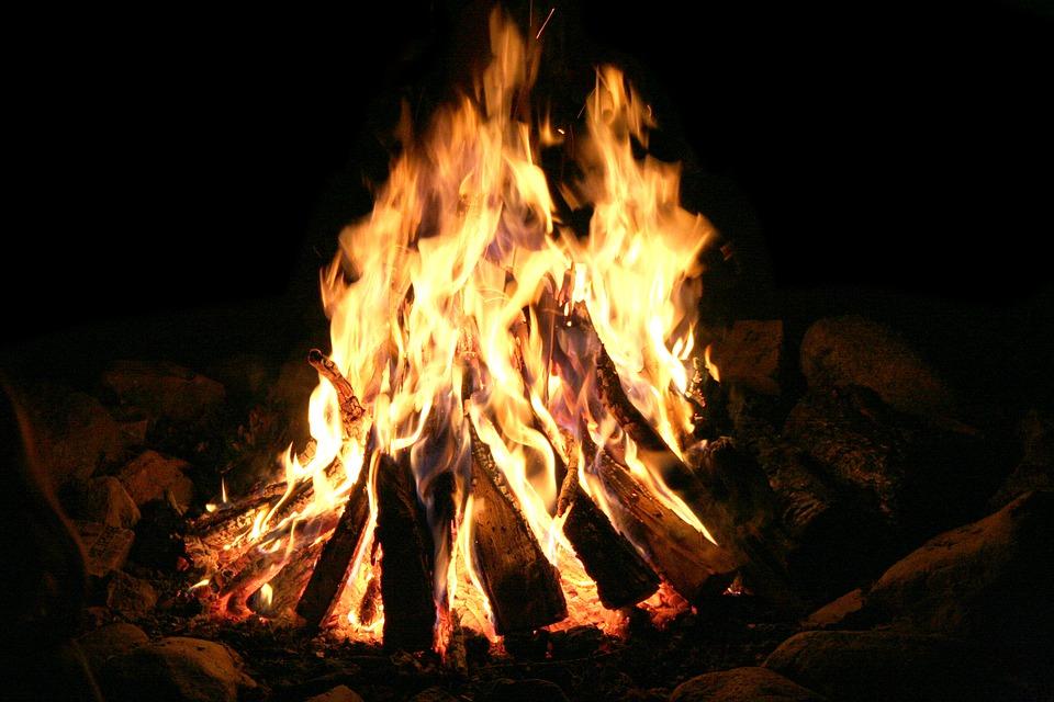accendere un fuoco nel canyoning