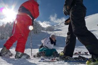 Skifahren in Sardinien 2