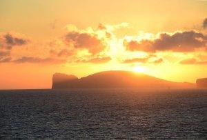 Sonnenuntergang am Capo Caccia
