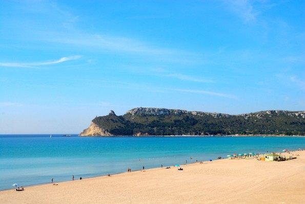 Der Hausstrand von Cagliari