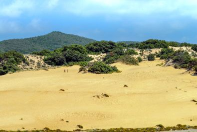Dünenstrand von Piscinas bei Arbus