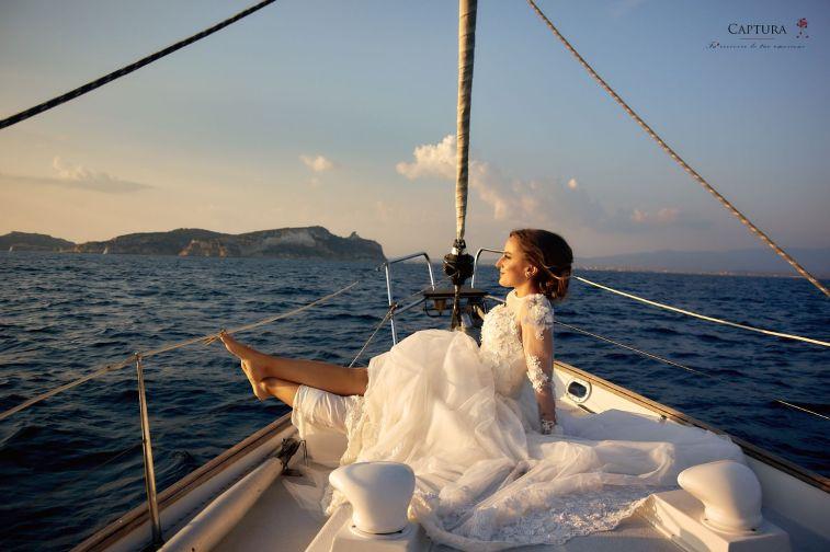 Freie Trauung auf dem Segelboot