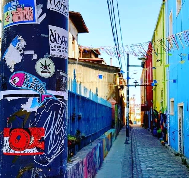 La Sardine Of Marseille, Valparaiso, Chili