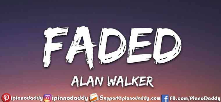 Faded (Alan Walker) Sargam Notes