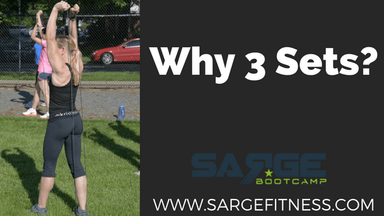 What is the big deal about 3 sets in your workout