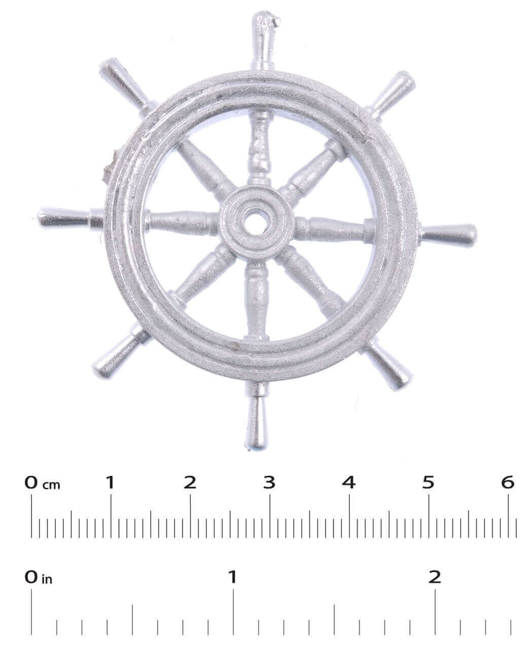 White Metal Boat Fittings Ship S Wheel