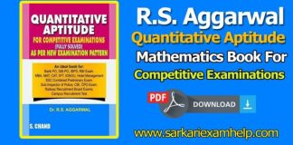 R s aggarwal math competition