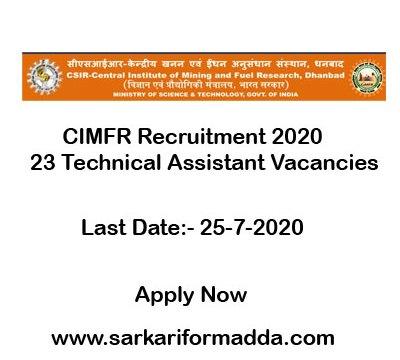 Cimfr-vacancy