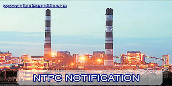NTPC-NOTIFICATION