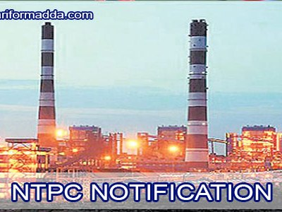 NTPC-NOTIFICATION