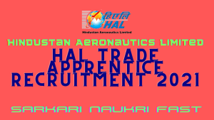 HAL Trade Apprentice Recruitment