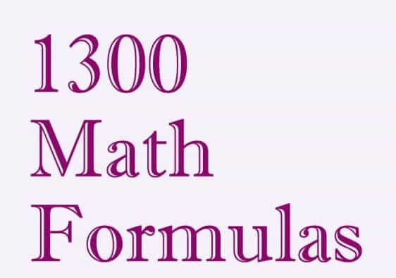 🎉 12 maths formulas download | Download Physics formulas and