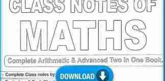 Rakesh Yadav Sir Handwriting Notes (Arith+ Adv) PDF Download in Hindi