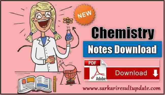 Chemistry A Level Notes Pdf