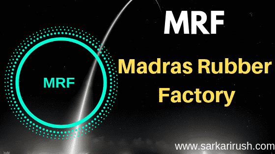 Full Form of MRF