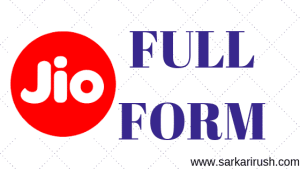 JIO Full Form: What is the Full Name of JIO