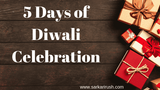 Five Days Happy Diwali Celebration