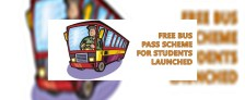 Free Bus Pass Scheme for Students