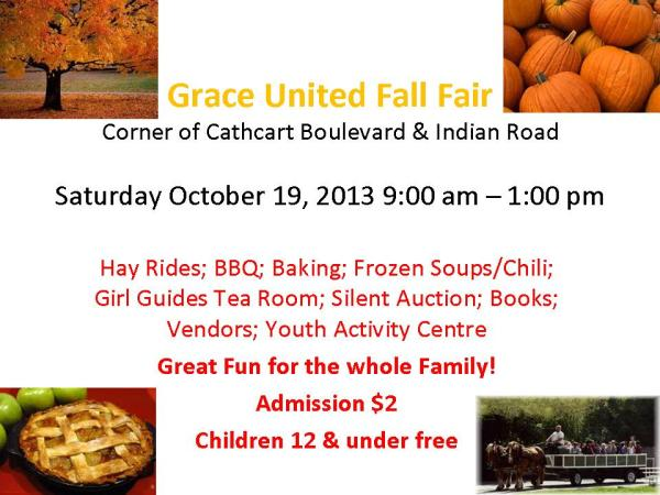 Grace United Fall Fair