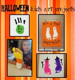 Halloween art projects