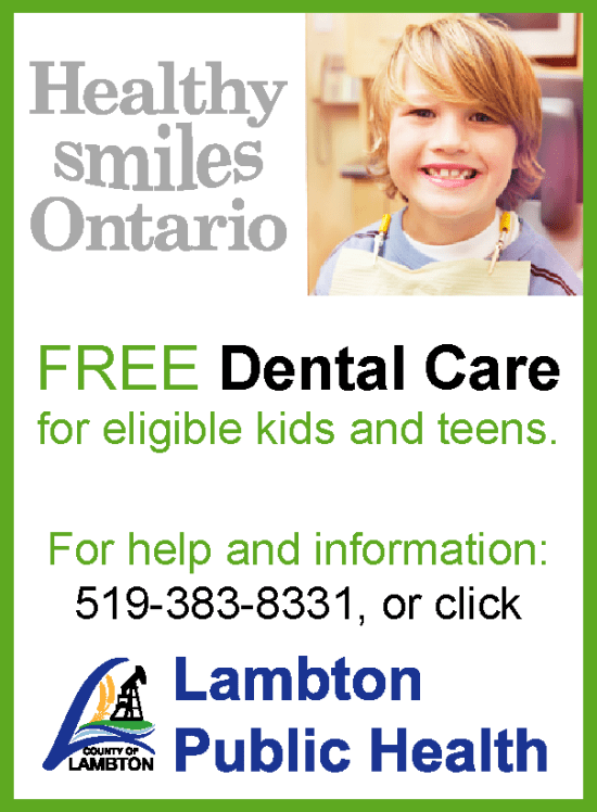 Lambton Puclic Health - Healthy Smiles Ontario