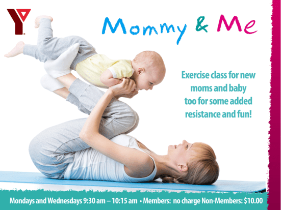 Mommy and Me Class @ Sarnia YMCA