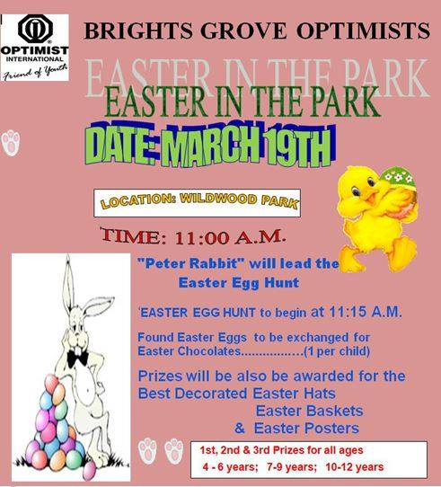 Bright's Grove Optimist Easter in the Park 2016