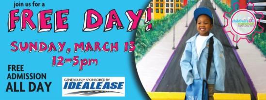 Free Day - Flint Children's Museum