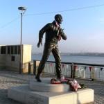 Johnny Walker VC statue
