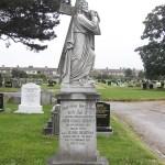 before restoration of memorial